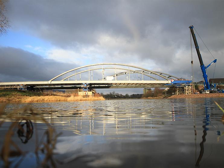 Weserbrücke Beverungen